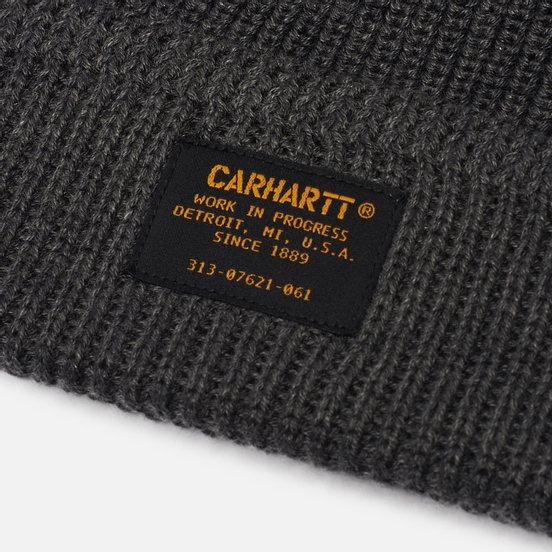 Шапка Carhartt WIP Truman Beanie Dark Grey Heather