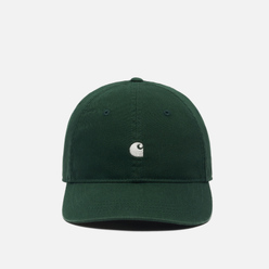 Кепка Carhartt WIP Madison Logo Bottle Green/Wax