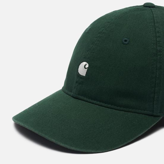 Кепка Carhartt WIP Madison Logo Bottle Green/Wax