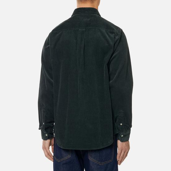 Мужская рубашка Carhartt WIP Madison 9.1 Oz Dark Teal/Wax