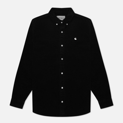 Мужская рубашка Carhartt WIP Madison 9.1 Oz Black/Wax