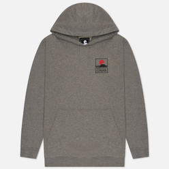 Мужская толстовка Edwin Sunset On Mount Fuji Hoodie Mid Grey Marl