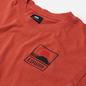 Мужская футболка Edwin Sunset On Mount Fuji Burnished Sunset Garment Washed фото - 1