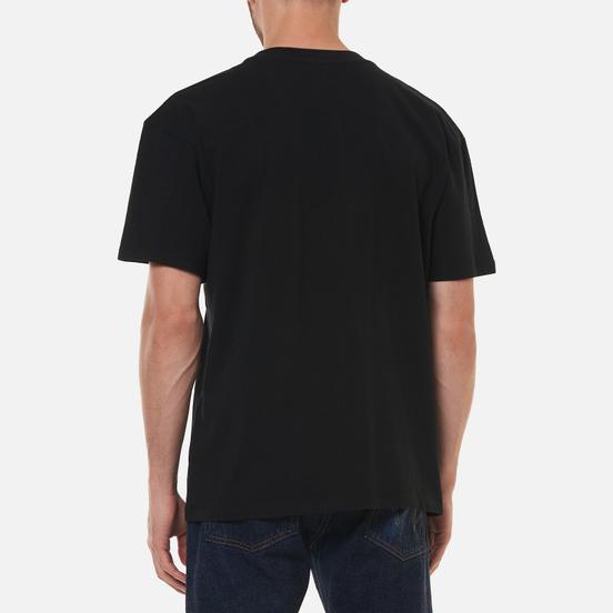 Мужская футболка Edwin Sunset On Mount Fuji Black Garment Washed