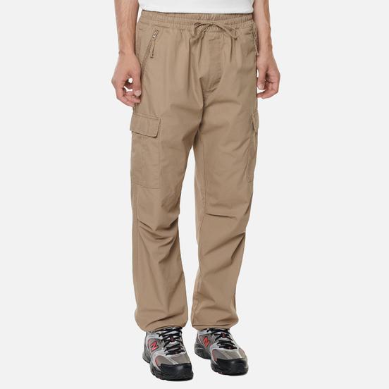 Мужские брюки Carhartt WIP Cargo Jogger Ripstop 6.5 Oz Leather Rinsed