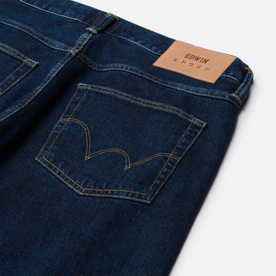 Мужские джинсы Edwin ED-55 Yoshiko Left Hand Denim 12.6 Oz Blue Akira Wash