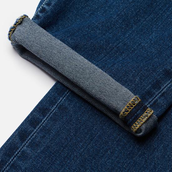 Мужские джинсы Edwin ED-55 Yoshiko Left Hand Denim 12.6 Oz Blue Aki Wash