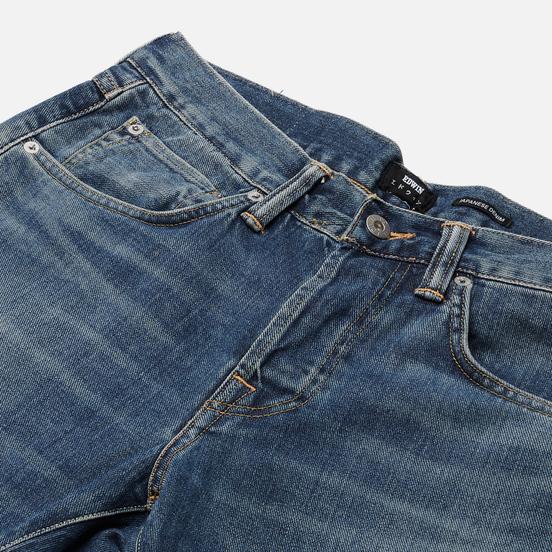 Мужские джинсы Edwin ED-55 Yoshiko Left Hand Denim 12.6 Oz Blue Ariki Wash