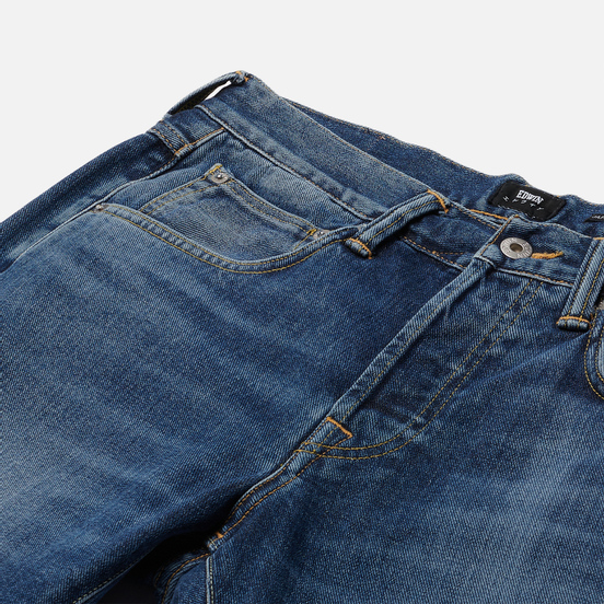 Мужские джинсы Edwin ED-55 Yoshiko Left Hand Denim 12.6 Oz Blue Niroko Wash