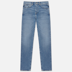 Мужские джинсы Edwin ED-80 Yoshiko Left Hand Denim 12.6 Oz Blue Arisu Wash