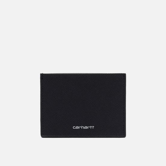 Держатель для карточек Carhartt WIP Coated 8.2 Oz Black/White
