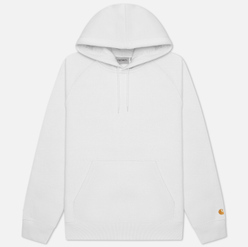 Мужская толстовка Carhartt WIP Chase 13 Oz Hooded White/Gold