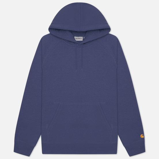 Мужская толстовка Carhartt WIP Chase 13 Oz Hooded Cold Viola/Gold