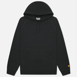 Мужская толстовка Carhartt WIP Chase 13 Oz Hooded Dark Teal/Gold