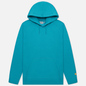 Мужская толстовка Carhartt WIP Chase 13 Oz Hooded Frosted Turquoise/Gold фото - 0