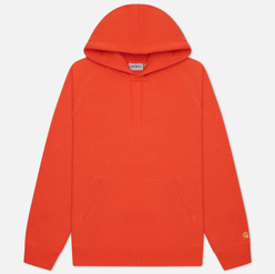 Мужская толстовка Carhartt WIP Chase 13 Oz Hooded Safety Orange/Gold