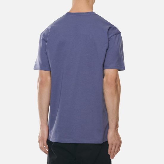 Мужская футболка Carhartt WIP S/S Chase Cold Viola/Gold