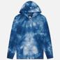 Мужская толстовка Edwin Katakana Hoodie Batik Garment Dyed Vintage Blue фото - 0