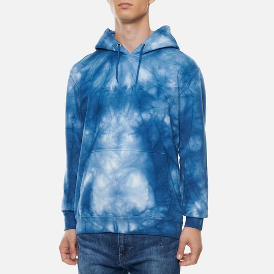 Мужская толстовка Edwin Katakana Hoodie Batik Garment Dyed Vintage Blue