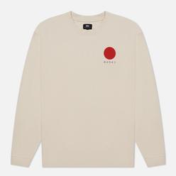 Мужской лонгслив Edwin Japanese Sun Silver Grey Garment Washed