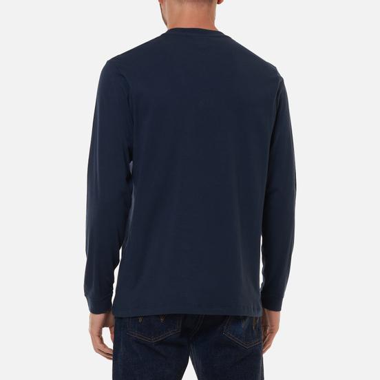 Мужской лонгслив Edwin Japanese Sun Navy Blazer Garment Washed