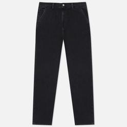 Мужские джинсы Edwin Universe Kingston Black Cotton Denim 12 Oz Black Mid Stone