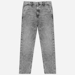 Мужские джинсы Edwin Universe Kingston Black Cotton Denim 12 Oz Black Marble Acid Wash