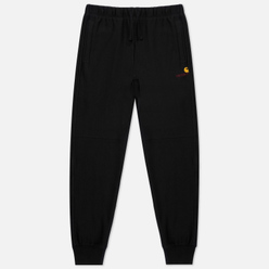 Мужские брюки Carhartt WIP American Script 12.3 Oz Black