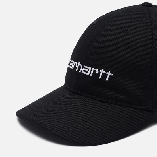 Кепка Carhartt WIP Carter Duck Black/White