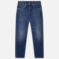 Мужские джинсы Edwin ED-55 CS Yuuki Blue Denim 12.8 Oz Blue Robun Wash