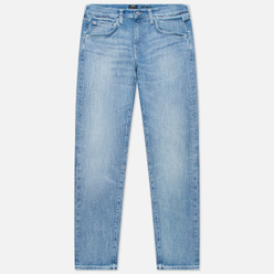 Мужские джинсы Edwin ED-55 CS Yuuki Blue Denim 12.8 Oz Blue Ratsuki Wash