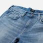 Мужские джинсы Edwin ED-55 CS Yuuki Blue Denim 12.8 Oz Blue Ratsuki Wash фото - 1