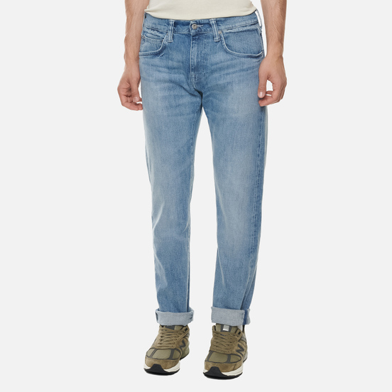 Мужские джинсы Edwin ED-55 CS Yuuki Blue Denim 12.8 Oz Blue Ratsuki Wash