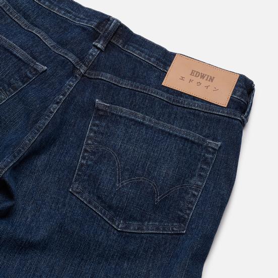 Мужские джинсы Edwin ED-55 CS Yuuki Blue Denim 12.8 Oz Blue Riaki Wash