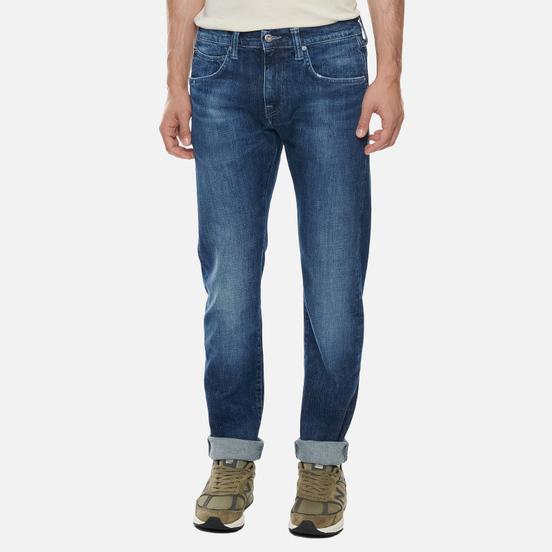 Мужские джинсы Edwin ED-55 CS Yuuki Blue Denim 12.8 Oz Blue Reoki Wash