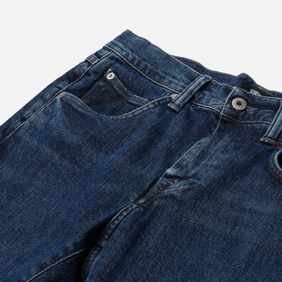 Мужские джинсы Edwin ED-55 CS Yuuki Blue Denim 12.8 Oz Blue Ryota Wash