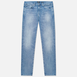 Мужские джинсы Edwin ED-80 CS Yuuki Blue Denim 12.8 Oz Blue Ratsuki Wash