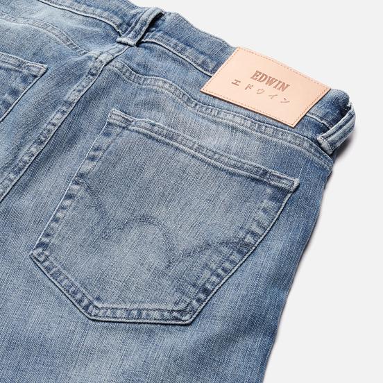 Мужские джинсы Edwin ED-85 CS Yuuki Blue Denim 12.8 Oz Blue Ratsuki Wash