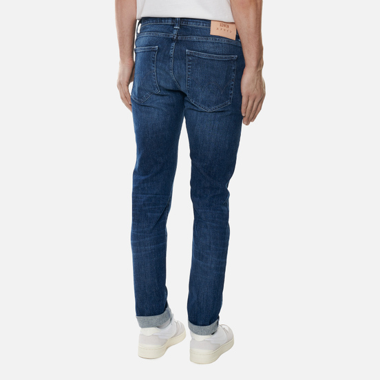 Мужские джинсы Edwin ED-85 CS Yuuki Blue Denim 12.8 Oz Blue Reoki Wash
