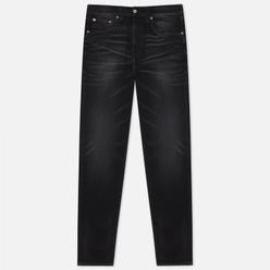 Мужские джинсы Edwin ED-45 CS Ayano Black Denim 11.8 Oz Black Kahori Wash