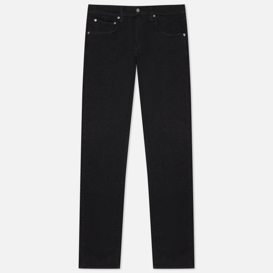 Мужские джинсы Edwin ED-55 CS Ayano Black Denim 11.8 Oz Black Rinsed