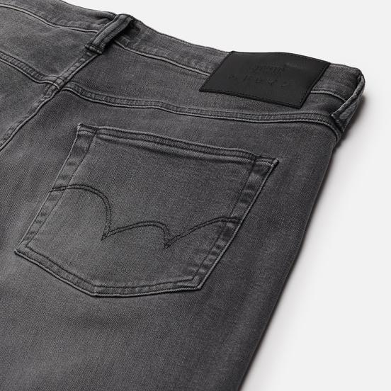 Мужские джинсы Edwin ED-55 CS Ayano Black Denim 11.8 Oz Black Kentaro Wash