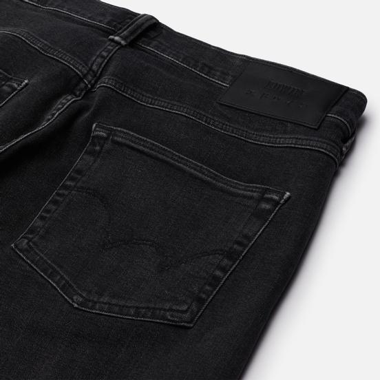 Мужские джинсы Edwin ED-55 CS Ayano Black Denim 11.8 Oz Black Kazu Wash