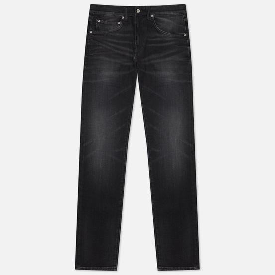 Мужские джинсы Edwin ED-55 CS Ayano Black Denim 11.8 Oz Black Kahori Wash