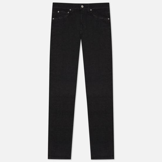 Мужские джинсы Edwin ED-80 CS Ayano Black Denim 11.8 Oz Black Rinsed