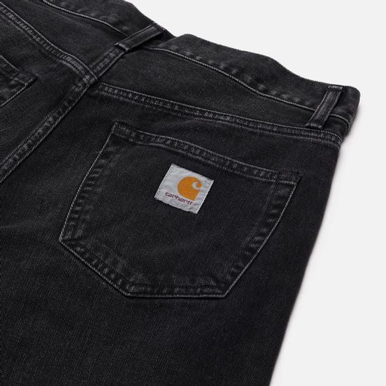 Мужские джинсы Carhartt WIP Pontiac 13.5 Oz Black Mid Worn Wash