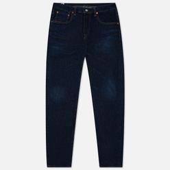Мужские джинсы Edwin Regular Tapered Dark Pure Indigo Rainbow Selvage 13.5 Oz Blue Dark Used