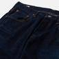Мужские джинсы Edwin Regular Tapered Dark Pure Indigo Rainbow Selvage 13.5 Oz Blue Dark Used фото - 1
