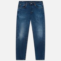 Мужские джинсы Edwin Regular Tapered Dark Pure Indigo Rainbow Selvage 13.5 Oz Blue Mid Dark Used