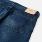 Мужские джинсы Edwin Regular Tapered Dark Pure Indigo Rainbow Selvage 13.5 Oz Blue Mid Dark Used фото - 2